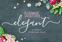 Design Gráfico // Fonts