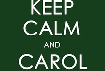 """KEep caLM / """"Keep Calm and Carry On"""" was a propaganda poster produced by the British government in 1939 during the beginning of World War II.  These posters were intended to raise the morale of the British public in the event of an invasion. / by Shari Wagner"""