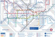 The King of the Underground / This is the craziest collection I have - original maps of metro systems from all over the world hanging on the walls at home.