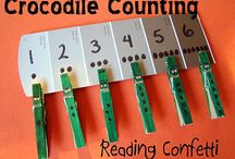 Counting, number recognition & math