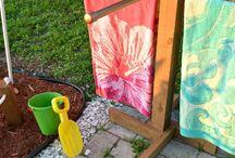 Monica pool towel rack ideas