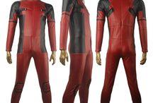 Deadpool costumes / X men Deadpool Wade Wilson suit Halloween cosplay costume