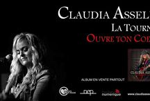 Claudia Asselin présente « OUVRE TON COEUR » / Visitez mon site web  écoutez mes chansons www.claudiaasselin.com