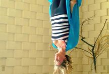 Body | Aerial Yoga / Yoga but mostly aerial / antigravity yoga poses ideas to try