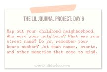 Journal Prompts / Prompts for journaling