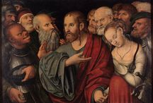 Лукас Кранах Младший (1515 - 1586 гг.) / Лукас Кранах Младший родился 4 октября 1515 в Виттенберге в семье немецкого живописца и графика эпохи Ренессанса Лукаса Кранаха Старшего. Его старший брат Ганс Кранах тоже стал художником. Они вместе работали в мастерской у отца и были его учениками. Лукас Младший унаследовал мастерскую после смерти отца. Его работы выполнены в основном в жанре портрета или мифических сцен.