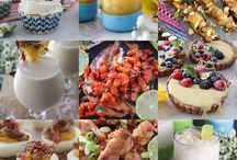 Healthy Picnic & BBQ Recipes / Healthy recipes filled with fresh summer ingredients perfect for a picnic or BBQ