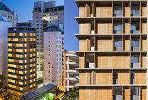 Arquitetura | Fachadas em Movimento / Referência de Projetos Inovadores - Fachadas criativas e dinâmicas.