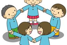kreslene děti