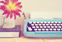 Old Timey Typewriters / A place for beautiful, colorful, and inspirational typewriters. / by Alyssa Boisson
