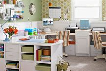 Home Office / Inspiration and ideas for designing my own office here at home...