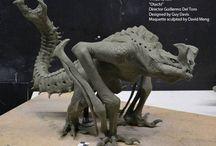 monster maquette/sculpture