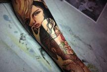 TATTOOS / TATOUAGES / Tattoos by the best tattoo artists around the world Tatouages réalisés par les meilleurs tatoueurs