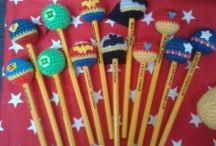 crochet souvenirs