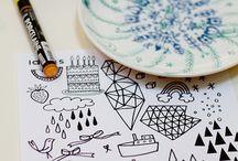 посуда роспись