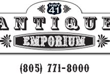 Highway 41 Antique Emporium / We are open 7 days a week from 10 to 4:50 and are conveniently located just of Highway 41, very near to Highway 101. We are right next to Miner's at 520 Atascadero Road, Morro Bay, California, 93442.  We look forward to your visit.  Feel free to call 805-771-8000 for more information. / by Micquel's Vintage / MICSJWL @ ETSY
