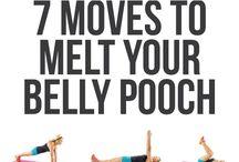 Lower belly pooch