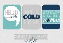 Project life : Printables