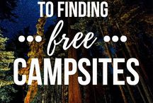 Camping | USA / Inspiration, ideas and advice on awesome campsites across the US
