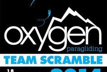 2ο OXYGEN SCRAMBLE / Για 2η συνεχόμενη χρονιά η Oxygen paragliding διοργανώνει το OXYGEN SCRAMBLE στον Κιθαιρώνα. Ένας αγώνας διαφορετικός από τους άλλους! Μία ομαδική συνάντηση – σεμινάριο - γιορτή που θα διαρκέσει 3 μέρες, για έμπειρους και κυρίως για νέους πιλότους! Περιμένουμε όλους τους φίλους του αλεξίπτωτου πλαγιάς, πιλότους και μη, για ένα τριήμερο χαράς και διασκέδασης!