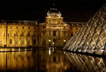 art galleries, Paris, San Francisco, bridges, oceans, streams, waterfalls, mountains