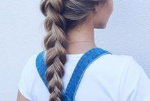 HAIR INSPIRATION / Braids and other hair inspiration.