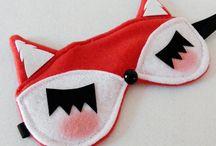 DIY sleeping masks