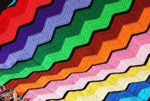 Crochet - Ripple - Zig Zag