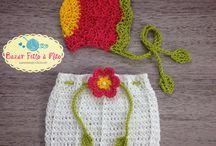Newborn Crochet / Peças feitas à mão!!