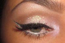 Make up Eyes, wink wink.