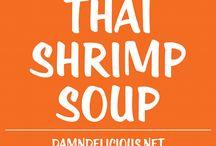 Thaiské polévky