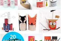 Kids craft / Cardboard ceations