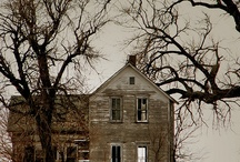 old houses / by Charlotte Johnson- Wade