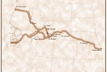 Oregon Trail places