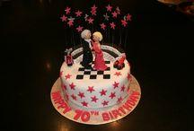 Ballroom cakes