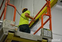 Door Installation (2 of 2) | InsulWall® | Insulated Warehouse Curtain Wall