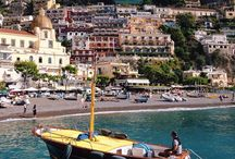 Capri Gozzo Tradizionale / Traditional Gozzo Boat / Our radical Chic boats of Capri seen around Capri and Amalfi coast / by Gianni Tedesco