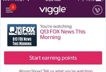 Download Viggle, earn points & win prizes by watching Q13 FOX / Q13 FOX and Viggle have partnered to allow you to earn rewards for watching! / by Q13 FOX News Seattle