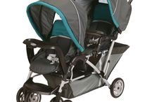 Top Rated Double Strollers / A collection of some of the top rated double strollers on the market today! Take a peek at some the most popular double stollers, without breaking the bank! / by Michelle Lewis