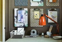 Office Nook and Craft Corner / The office or studio should be a place that inspires productivity and creativity