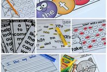 Kindergarten Sight Words / Great ideas for practicing sight words! / by Little Minds at Work