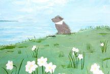Doggie painting