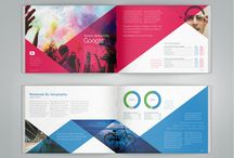 Brochure / A page to store and highlight inspirational brochure design.
