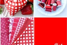 Sew red! / Sulky Garne Farben Inspirationen