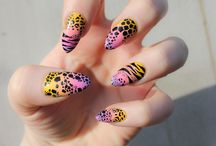 Animal Print Nails / Nail Art with Animal Print