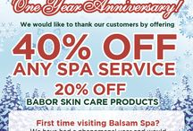 First Anniversary / 40% Discount for all esthetic services and 10% extra off for NEW CUSTOMER. 20% Discount on Home Care Product