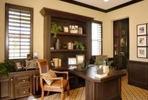 masculine office ideas / by Jessica Caldwell
