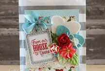 Inspiring Verve Cards / These are some cards I like that were created with Verve Stamps.