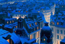Cityscapes at Christmas