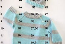 measurements for sweater